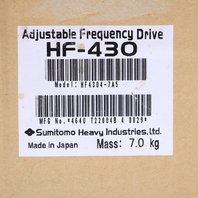 * NEW SEALED SUMITOMO HF-4304-7A5 10HP ADJUSTABLE FREQUENCY DRIVE 480VAC