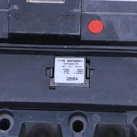 * GE SGHA36AT0600 600A 600V 3 POLE CIRCUIT BREAKER