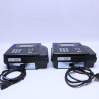 LOT OF 2 KRONOS 8602800-001 SYSTEM 4500 TIME CLOCK