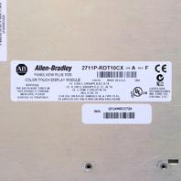 ALLEN BRADLEY 2711P-RDT10CX PANELVIEW PLUS 1000 COLOR TOUCH DISPLAY MODULE