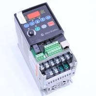 ALLEN BRADLEY  POWERFLEX 4 22A-B8P0N104 DRIVE 2HP