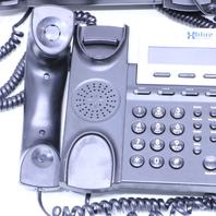 LOT OF (3) XBLUE NETWORKS EKT-CHARCOAL 1670-00 6-LINE OFFICE PHONES