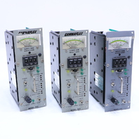 LOT OF (3) GAMMAFLUX 932 TEMPERATURE CONTROLLER 30AMP 240V 60Hz
