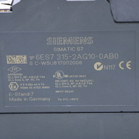 * NEW SIEMENS SIMATIC S7-300 6ES7315-2AG10-0AB0 CPU 315-2DP MODULE