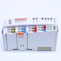 * NEW BECKHOFF BK3120 PROFIBUS COUPLER FOR UP TO 64 TERMINALS