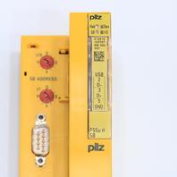 * PILZ 312010 PSSU H SB SAFETY BUS P 24VDC EXCL. *WARRANTY*