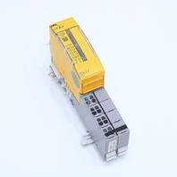 * PILZ 312191 PSSU EF PS1 5-24VDC 12W W/ 312656 TERMINAL CONNECTOR EXCL. *WARRANTY*