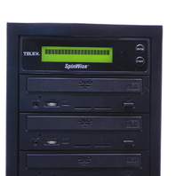 TELEX SPINWISE T7416DVDH DVD DUPLICATOR  7 BUILT-IN BURNERS
