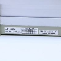 A&D AD-4325A WEIGHT INDICATOR