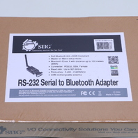 NEW SEALED SIIG RS-232 SERIAL TO BLUETOOTH ADAPTER