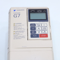 YASKAWA CIMR-G7U41P5 INVERTER DRIVE 380/480V 50/60HZ 3PHASE