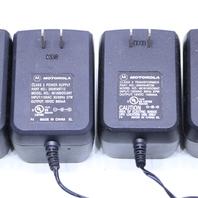 LOT OF (5) MOTOROLA  481810OO3NT  2504548T05 AC POWER ADAPTER 18VDC