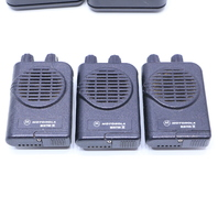 LOT OF (3) MOTOROLA MINITOR IV PAGERS W/ (2) NYN 8346B/NYN 8354B CHARGERS