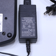 KENWOOD TK 3360 RADIO W/ KSC-25 RAPID CHARGER AND AC POWER ADAPTER