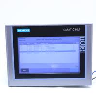 SIEMENS 6AV2124-0GC01-0AX0 SIMATIC HMI TOUCH TP700 COMFORT PANEL
