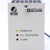PEPPERL & FUCHS PS2500/PM115 ELCON PM 2500 POWER SUPPLY 23-28VDC 16A