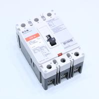 EATON EHD3010L EHD 5K BREAKER 3P 15A 480VAC 250VDC *NICE*