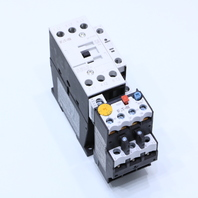 NEW EATON DIL M25-10 CONTACTOR 24VDC W/ XTOB024CC1 OVERLOAD RELAY