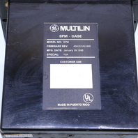 * GE MULTILIN SPM SYNCHRONOUS MOTOR PROTECTION & CONTROL CASE ONLY