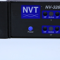 NVT NV-3262R CCTV TWISTED-PAIR ACTIVE RECEIVER HUB