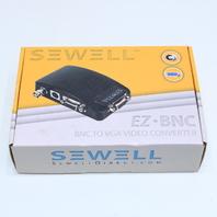 NEW SEWELL EZ-BNC CONVERTER BNC TO VGA