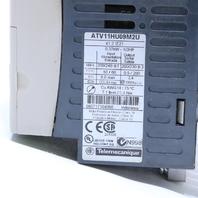 TELEMECANIQUE ATV11HU09M2E ADJUSTABLE VARIABLE SPEED DRIVE 0.37 KW 1/2 HP 5.3AMP