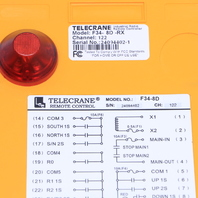 TELECRANE F34-8D-RX REMOTE CONTROL