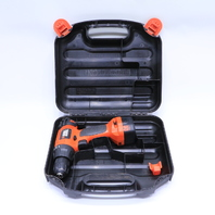 * BLACK & DECKER CD9602 DRILL TYPE 39.6V W/ CARRYING CASE