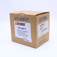 * NEW SAFTRONICS CIMR-V7AU40P7 PC7 MINI VECTOR AC DRIVE 2HP 2.8A 460VAC
