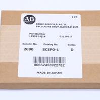 * NEW ALLEN BRADLEY SCEP0-1 FIBER CABLE