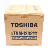 "NEW SEALED TOSHIBA TVM-1202 B/W VIDEO MONITOR 11"" #1"