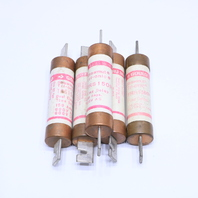* LOT OF (5) GOULD SHAWMUT TRS150R 150A 600V TRI-ONIC TIME DELAY FUSE