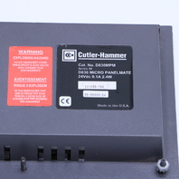 CUTLER HAMMER D830 D830MPM OPERATOR INTERFACE PANEL