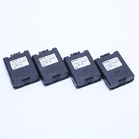 LOT OF (4) HONEYWELL 161888-0001 LI-ION RECHARGEABLE BATTERY for LXE MX9 & ITRON FC300