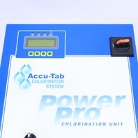 ACCU-TAB CHLORINATION SYSTEM POWER PRO CHLORINATION UNIT