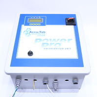 ACCU-TAB CHLORINATION SYSTEM POWER PRO CHLORINATION UNIT