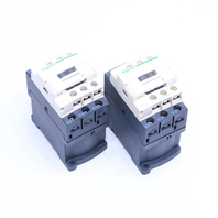 LOT OF (2) SCHNEIDER ELECTRIC LC1D09 CONTACTOR 24VDC 25AMP 3PHASE 3POLE 600V