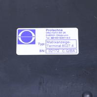 PROTECHNA 8027.4 MATRIXANZEIGE TERMINAL DISPLAY