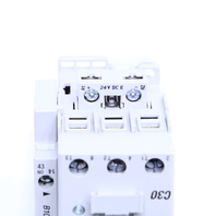 ALLEN BRADLEY 100-C30E*00 30A 24VDC CONTACTOR