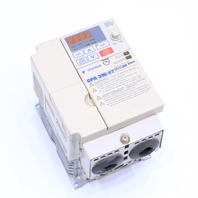 YASKAWA CIMR-V7AM21P5 AC DRIVE 1.5kW 11AMP 3PHASE 200-230VAC 50/60HZ