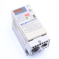 YASKAWA CIMR-V7AM20P4 DRIVE 3.9AMP 3PHASE 200-230VAC 50/60HZ