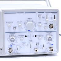 GW INSTEK GOS-620 20 MHz 2-CHANNEL OSCILLOSCOPE
