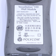 POLYCOM 2201-06856-001 VOICESTATION 100 WALL MODULE