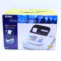 * NEW ROYAL 435DX ELECTRONIC CASH REGISTER