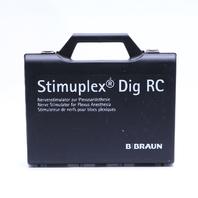 * B BRAUN STIMUPLEX DIG RC STIMULATOR w/ CARRYING CASE