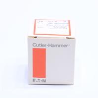 * NEW EATON CUTLER HAMMER E22EB2B PUSHBUTTON RED