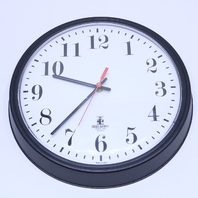 NEW CHICAGO LIGHTHOUSE INDUSTRIES COMMERCIAL CLOCK 13.5""