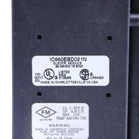 * GE FANUC GENIUS IC660BBD021N I/O BLOCK 16 CIRCUIT 24/48 VDC