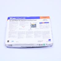 NEW 3Com EtherLink 3C905C-TXM 10/100 Mbps PCI Network Interface Card