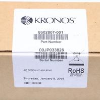 NEW SEALED KRONOS 8602807-001 A/C OPTION KIT 4500 ROHS